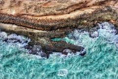 索马里的岸 图库摄影