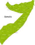 索马里 向量例证