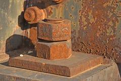 紧固的螺栓 免版税库存照片