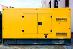 紧急情况的流动电力发电器 库存照片
