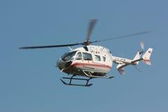 紧急直升机俄语 免版税库存图片