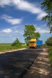 紧急货物的发运 免版税图库摄影