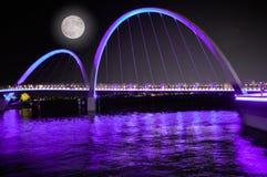 紫外颜色在珀斯n澳大利亚 图库摄影