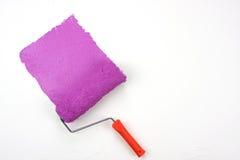 紫红色油漆 库存照片