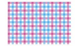 紫红色的蓝色织品纹理背景无缝的样式 库存例证