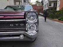 紫罗兰上色了1965年比德GTO 免版税库存照片