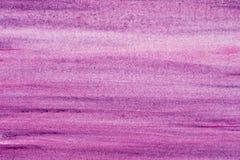 紫罗兰色水彩蜡笔画背景纹理 免版税库存照片