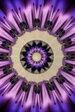 紫色万花筒坛场垂直 免版税库存图片