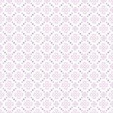 紫色传染媒介心形花无缝的样式 皇族释放例证