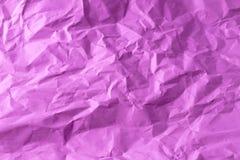 紫色压皱纸 图库摄影