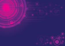 紫色向量摘要背景 库存图片