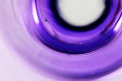 紫色圆环 免版税库存图片