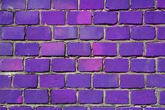 紫色墙壁 免版税库存照片