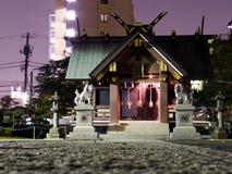 紫色寺庙 免版税库存照片
