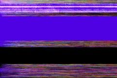 紫色小故障艺术背景 图库摄影