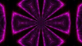 紫色抽象万花筒背景 库存图片
