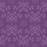 紫色无缝的墙纸 库存图片