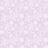 紫色水下的海草样式纹理 皇族释放例证