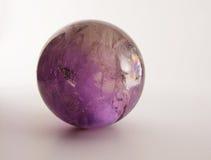 紫色的球 免版税库存图片