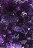 紫色的美好的geode 库存照片
