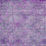 紫色的背景困厄的脏 图库摄影
