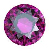 紫色的舍入 库存图片