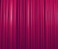 紫色窗帘 库存照片