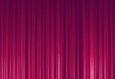 紫色窗帘 向量例证