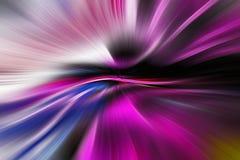 紫色线到中部里 免版税图库摄影