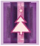 紫色结构树 图库摄影