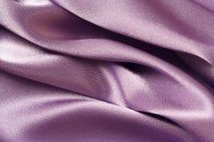 紫色缎 免版税库存图片