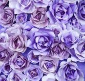 紫色罗斯纸艺术纹理Artbackground 库存照片