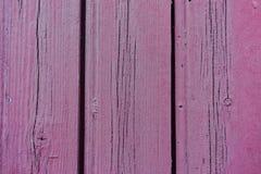 紫色老木板条纹理,背景,墙纸,模板 免版税图库摄影