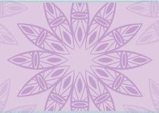 紫色背景花 免版税库存图片