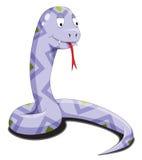 紫色蛇 免版税库存照片