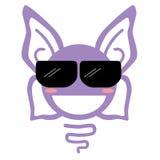 紫色蝴蝶 图库摄影