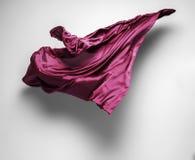 紫色飞行织品 库存图片