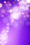 紫色bokeh背景 免版税图库摄影