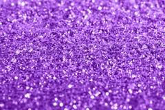 紫色giltter构造欢乐抽象背景,设计的,软的焦点制件 免版税库存图片