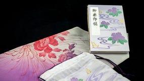 紫色Goshuinchou 免版税库存图片