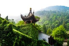 繁体中文塔 免版税图库摄影