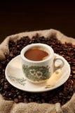 繁体中文本机咖啡 免版税图库摄影