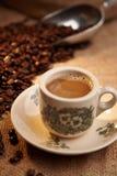繁体中文本机咖啡 库存图片