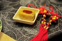 繁体中文碗筷 图库摄影