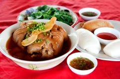 繁体中文食物 免版税库存图片