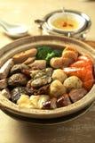 繁体中文食物 免版税图库摄影