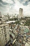 繁忙的城市 免版税库存图片