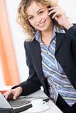 繁忙的妇女 免版税图库摄影