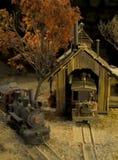 繁忙的小的铁路 免版税库存图片