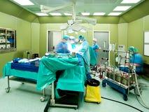 繁忙的手术 库存图片